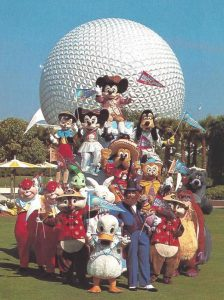 Mickey and Friends in Epcot