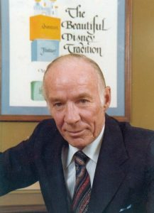 """Professor Emeritus"" Disney Legend Van Arsdale France"